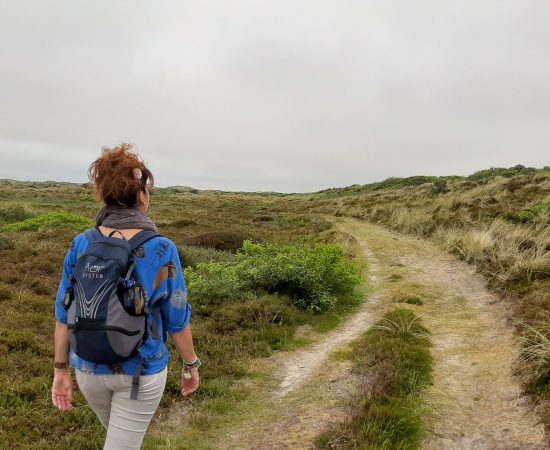wandelen op pad noordvaarder